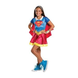 {girls} DC Super Hero Girls Supergirl Costume